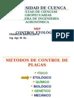Control etologico en plagas