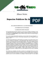 Veron, Eliseo - Espacios Publicos en Imagenes