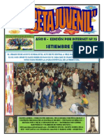 Gaceta Juvenil Ecb Nº 75 Setiembre 2015