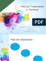 Clase VII Plan de Tratamiento y Técnicas