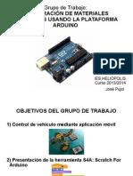 Control de motor reductores con arduino