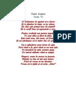 Arghezi Psalm VI