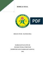 Soal Ksm 2015 Provinsi