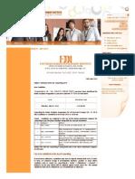 FDDI __ Results Declared for AIST 2014