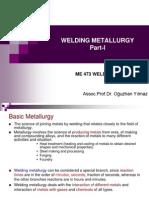 Welding Metallurgy Part 1
