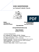 Good Shepherd ANCC Bulletin