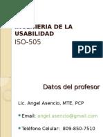 Presentacion de ISO 505