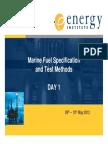 Ei Marine Fuel Workshop Day 1