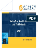 Ei Marine Fuel Workshop Day 1