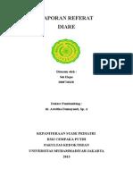 Cover Referat Diare