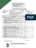 Formatos Evaluacion de Pasantías Unefa