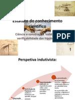 Estatutodoconhecimentocientífico1