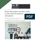 15-10-2015 Central CT - Moreno Valle Ayudará a Tony Gali a Cumplir Su Meta, Instalar Mil Cámaras de Videovigilancia