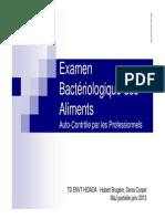 TD Examen Bacterio Aliments 2