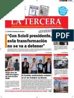 Diario La Tercera 19.10.2015