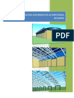 Structural Analysis and Design of an Industrial Building(1)