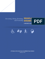 Employing People With Disabilities Toolkit