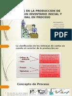 Efectos en La Produccion de Costeo Sin Inventario