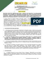 EDITAL INSTITUTO FEDERAL DE EDUCAÇÃO CIÊNCIAS E TECNOLOGIA DE SAO PAULO PRONATEC 2015