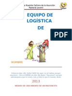 Folleto de Logistica