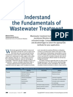 Understand the fundamentals of waste water treatment