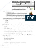 Prova 1.b - Pdp - Gpi 1ªu -15