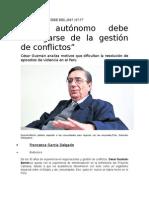 Entrevista al Dr. César Guzmán Barrón