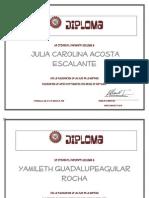 Diplomas 2 de Osmara Anduaga