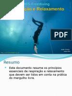 Apresentação mergulho