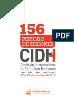 CIDH 156 Transparencia Venezuela