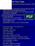 Financial Statements Forecast