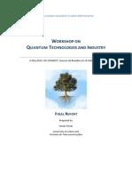 WorkshoponQuantumTechnologiesandIndustry6May2015 Report