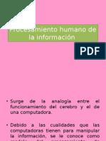 Procesamiento humano de la informaci+¦n