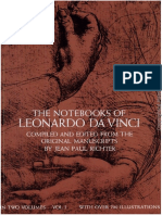 Leonardo Da Vinci - Notebook of L D V