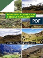 ACERCA DE LA LEGISLACION SOBRE LA TIERRA AGRARIA