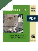 Cunicultura 2 - Selección de Pie de Cria de Conejos