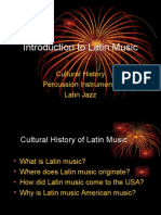 Intro to latin music