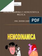 HIDRODINAMICA-HEMODINAMICA 2015