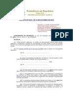 Decreto Nº 8.541, De 13 de Outubro de 2015