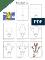 Draw Giraffe Face