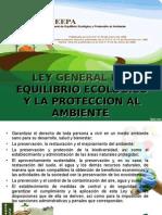 Ley de Equilibrio Ecologico