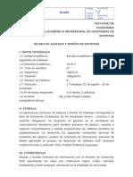 Hebf407 Análisis y Diseño de Sistemas