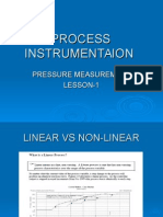 Pressure measurement instruments