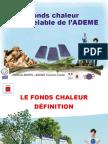 Ademe Dispostif Fonds Chaleur 2015