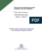 Unesco 2005 Repitencia y Deserción Universitaria