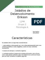 Estadios Desenvolvimento Erick Erickson