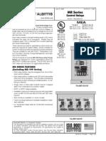Fire-Lite MR-101T Data Sheet