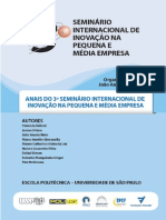 ANAIS DO 3º SEMINÁRIO INTERNACIONAL DE INOVAÇÃO NA PEQUENA E MÉDIA EMPRESA