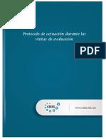 Protocolo de Actuacion Durante Las Visitas de Evaluacion CIEES