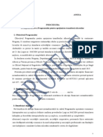 Proiect Procedura Transfer 2015